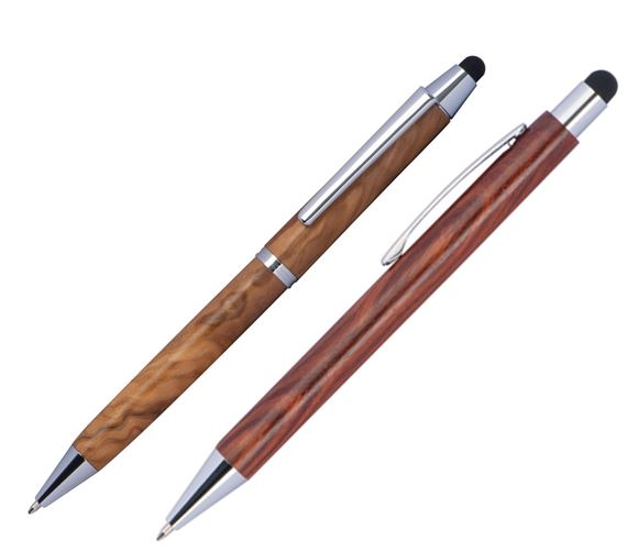 Edle Werbe-Touchpens aus Holz