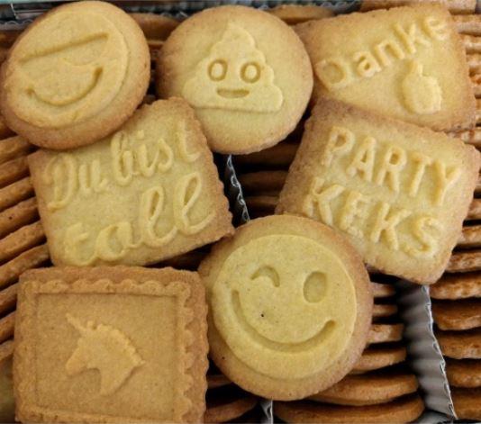 Werbe-Kekse mit eigenem Logo