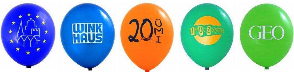 Werbe-Ballons mit Luft oder Helium befüllen
