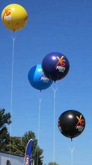 Mega-Ballons mit Werbung bedrucken