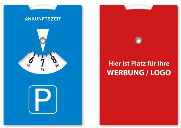Mini-Parkscheibe in Scheckkartenformat