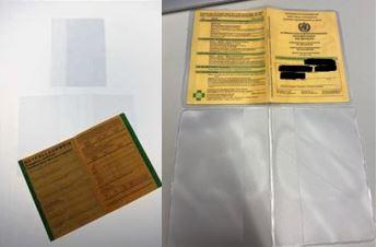 Schutzhüllen für den Impfpass bedrucken