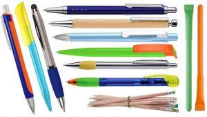 Bleistifte und Kulis bedrucken